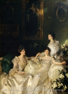 The Wyndham Sisters: Lady Elcho, Mrs. Adeane, and Mrs. Tennant by John Singer Sargent