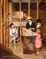 The Young Mechanic painting reproduction, Allen Smith Jr.
