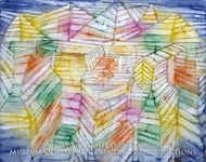 Theater-Mountain-Construction by Paul Klee