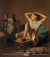 Therese Dreaming by Balthus