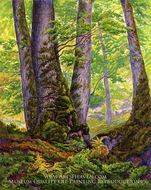 Three Beeches by Paul Ranson