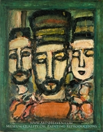 Three Judges by Georges Rouault