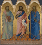 Three Saints painting reproduction, Nardo Di Cione