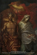 Time, Death and Judgement painting reproduction, George Frederic Watts