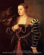 Titian's daughter, Lavinia by Titian