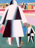To Harvest (Martha and Vanka) by Kasimir Malevich