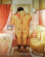 Tribute to Bonnard by Fernando Botero