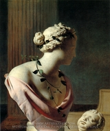 Trompe Loeil with a Bust of Venus painting reproduction, Caesar Van Everdingen