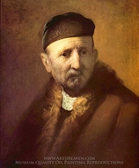 Tronie of an Old Man painting reproduction, Rembrandt Van Rijn