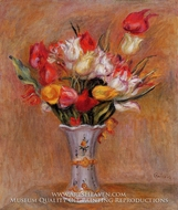 Tulips by Pierre-Auguste Renoir