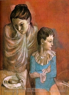 Tumblers (Mother and Son) by Pablo Picasso (inspired by)