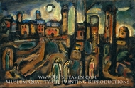 Twilight by Georges Rouault