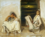 Two Arab Women by John Singer Sargent