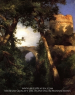 Two Owls by Thomas Moran