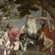 Unfaithfulness painting reproduction, Paolo Veronese