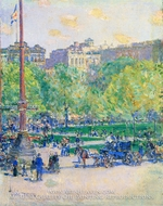 Union Square by Childe Hassam