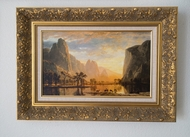 Valley of the Yosemite painting reproduction, Albert Bierstadt