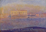 Venice, the Doges' Palace Seen from San Giorgio Maggiore by Claude Monet