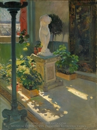 Venus in Atrium painting reproduction, William De Leftwich Dodge
