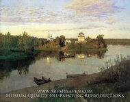 Vesper Chores by Isaak Levitan