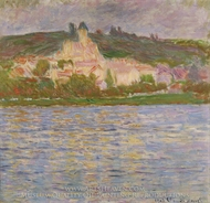 Vetheuil painting reproduction, Claude Monet