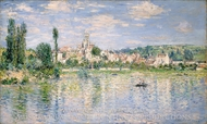 Vetheuil in Summer painting reproduction, Claude Monet