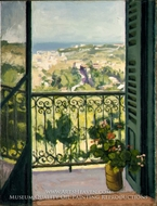 View from a Balcony by Albert Marquet