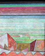View into the Fertile Country by Paul Klee
