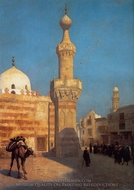 View of Cairo painting reproduction, Jean-Leon Gerome