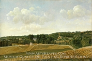View of Chatenay by Achille-Etna Michallon