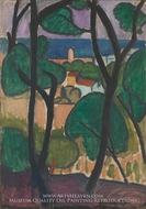 View of Collioure by Henri Matisse