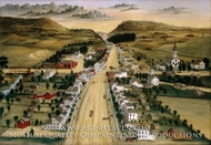 View of Poestenkill, New York by Joseph H. Hidley