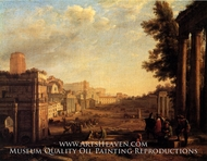 View of the Campo Vaccino by Claude Lorraine