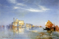 View of Venice by Thomas Moran