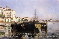 View of Venice by John Henri Twachtman