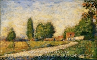 Village Road by Georges Seurat