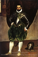Vincenzo Anastagi painting reproduction, El Greco