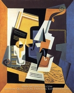 Violin and Glass by Juan Gris