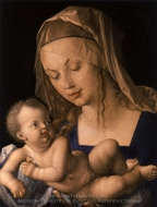 Virgin and Child painting reproduction, Albrecht Durer