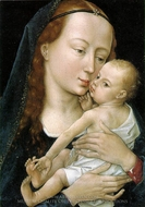 Virgin and Child painting reproduction, Rogier Van Der Weyden