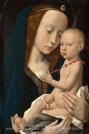 Virgin and Child by Hugo Van Der Goes