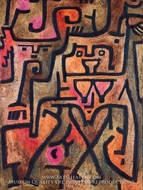 Wald-Hexen by Paul Klee