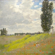 Walk in the Meadows at Argenteuil by Claude Monet