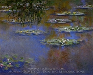 Water Lilies 1903 painting reproduction, Claude Monet