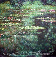 Water Lilies 1904 by Claude Monet
