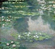 Water Lilies 1905 by Claude Monet