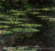 Water Lilies 1907 by Claude Monet