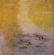 Water Lilies 1908 painting reproduction, Claude Monet