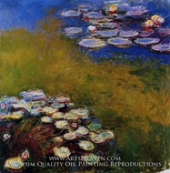 Water Lilies 1914-17 by Claude Monet