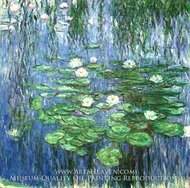 Water Lilies 1914-19 by Claude Monet